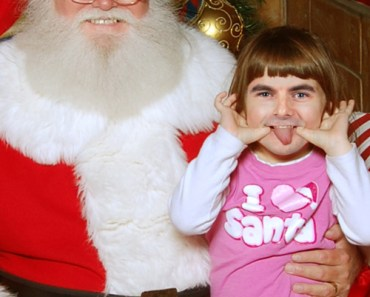 Jeff Gordon Sitting on Santa's Lap, funny nascar pictures nascar christmas nascar holiday funny nascar photos pictures of sprint cup drivers