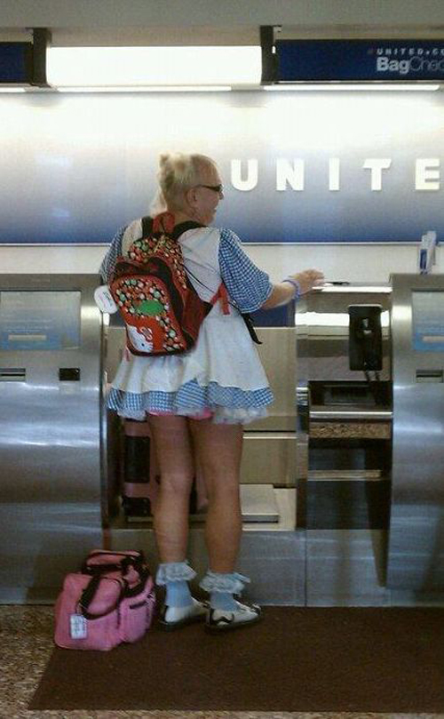 old crossdresser man dressed as woman on airplane airlines Worst Family Photos Bad Family Portraits, Bad Family Photos, Ellen, funny family photos, worst family pics, funny pictures, awkward family photos, wtf, ugly people, stupid people, crazy people, people of walmart