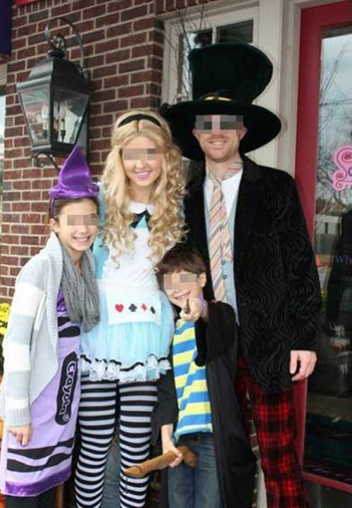 Worst Halloween Costume Bad Halloween Costumes for kids for adults inappropriate wtf worst tattoos bad tattoos awkward family photos funny costumes funny halloween family Kid holding Dildo