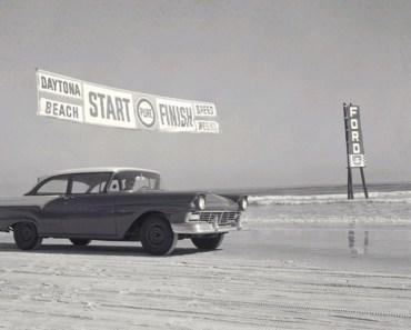 Historic Daytona Beach Racing Video Compilation. NASCAR 1952, '57 & '59.