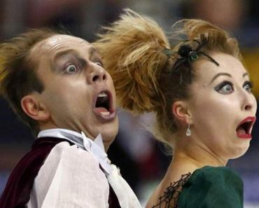 Funny Figure Skater Faces