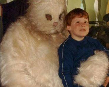 Scary Creepy Easter Bunny Pics– Sketchy & Weird