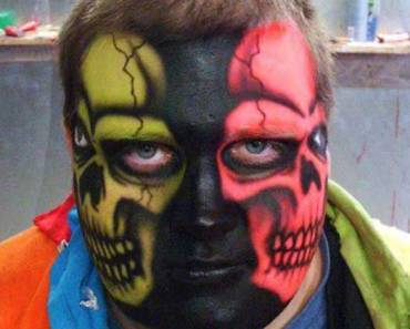 Skull Face – The Worst Bad Tattoos, The Ugliest Regrets, too.
