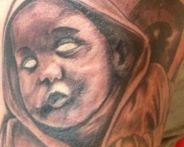 Spooky Zombie Baby – 15 of the Worst Bad Tattoos