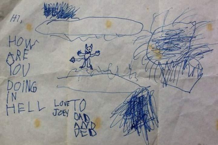 Disturbing Drawings By Kids