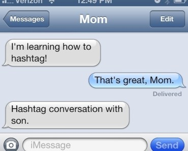 Funny Texts Messages from Mom & Dad ~ Why parents shouldn't be texting