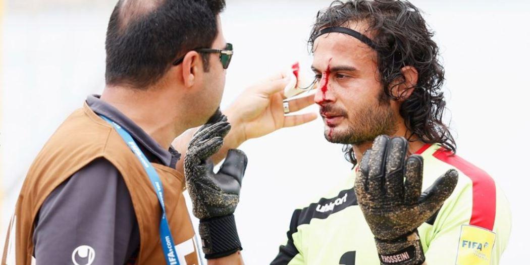Peyman Hosseini injury