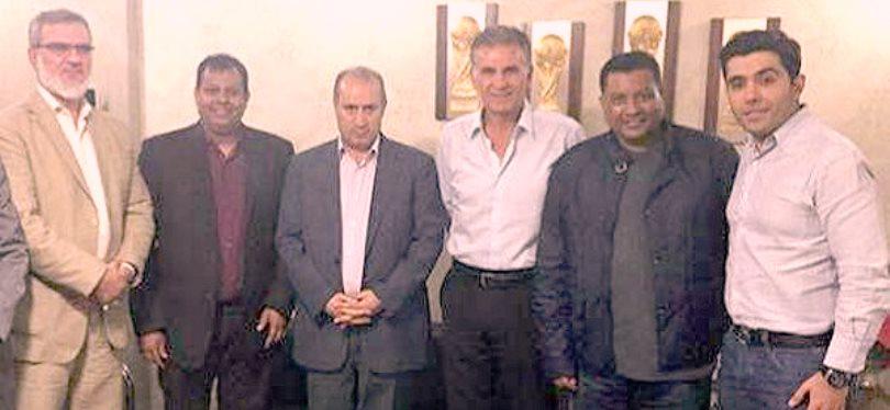 Taj Queiroz Oman delegation