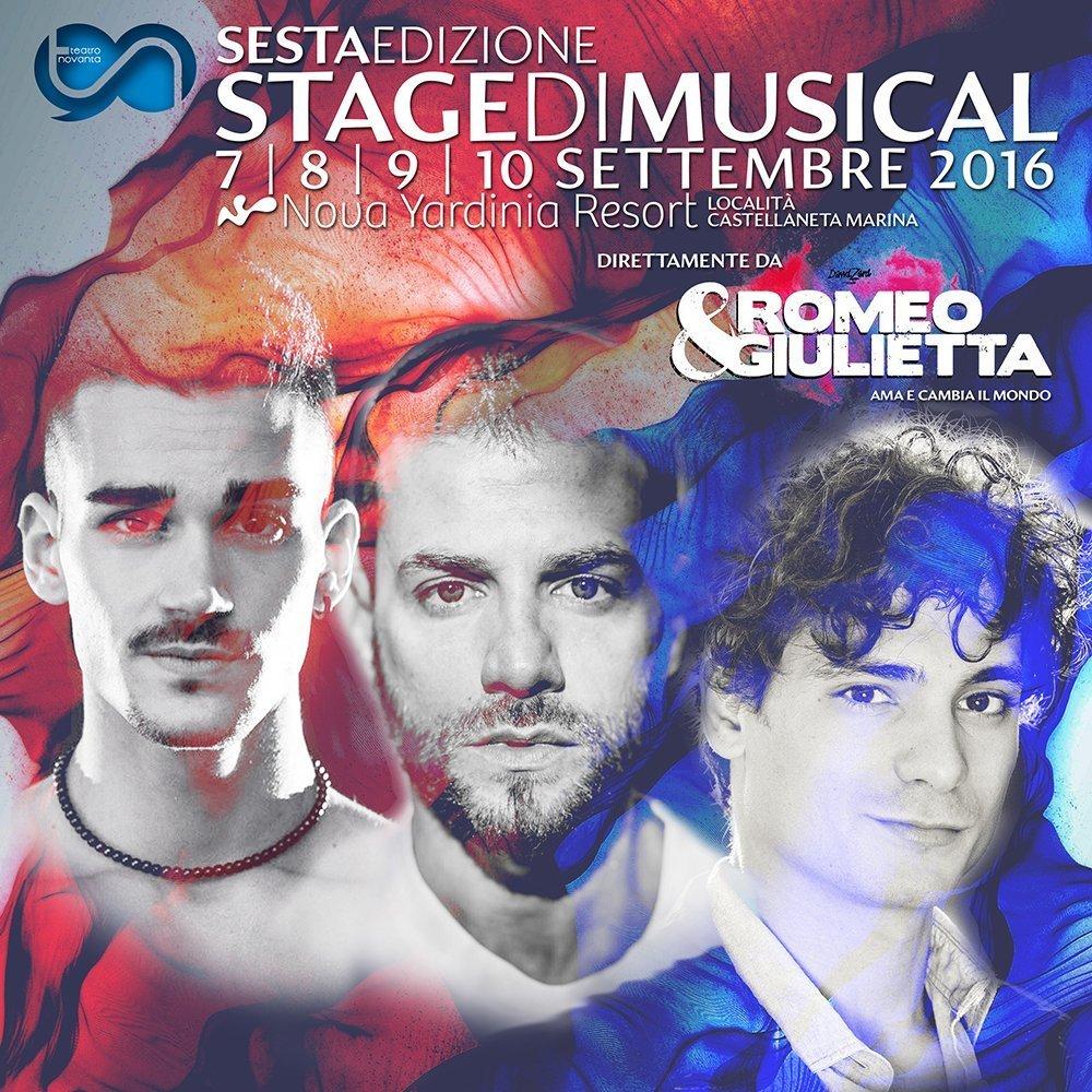 Stage di Musical 6° Edizione Romeo e Giulietta Ama e cambia Il Mondo