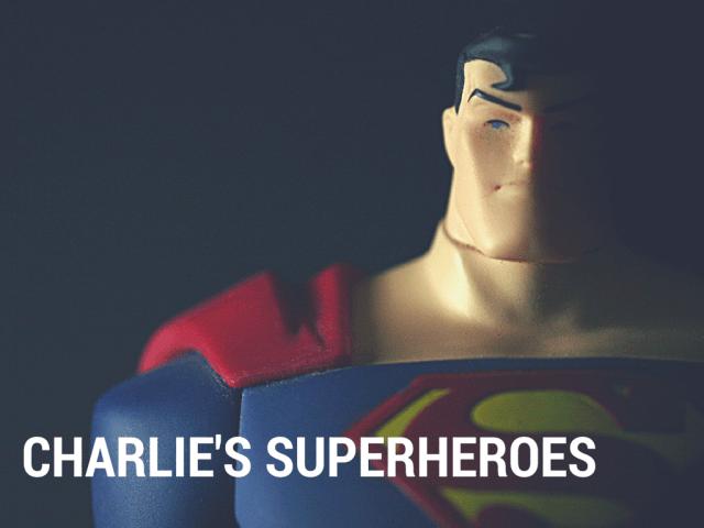 Charlie's superheroes