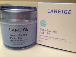 Laneige hydrating gel
