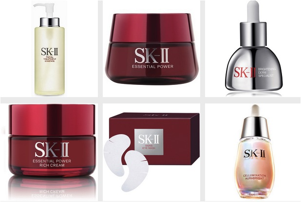 SKII products