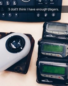 I don't think I have enough pagers...