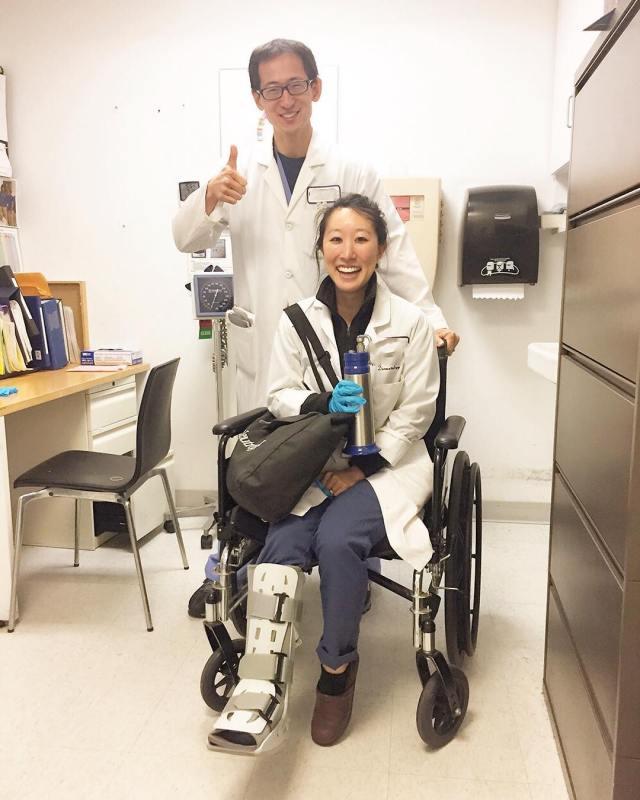 joyce teawithMD wheelchair