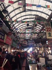 Inside of Kwang Jang Shi Jang