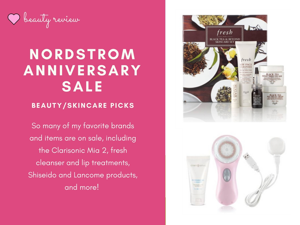 Nordstrom Anniversary Sale Skincare and Beauty Picks