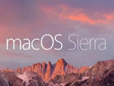 آبل تطلق تحديث نظام الماك macOS Sierra