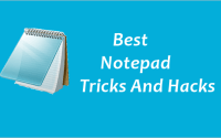 9-Top-Notepad-Tricks