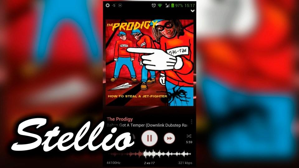 stellio best music player app
