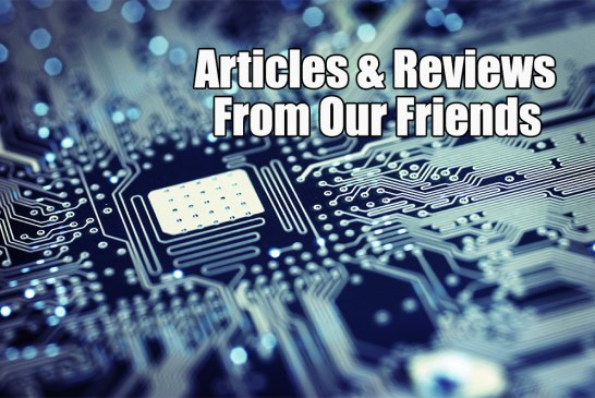 Articles & Reviews From Our Friends (20 October 2016)
