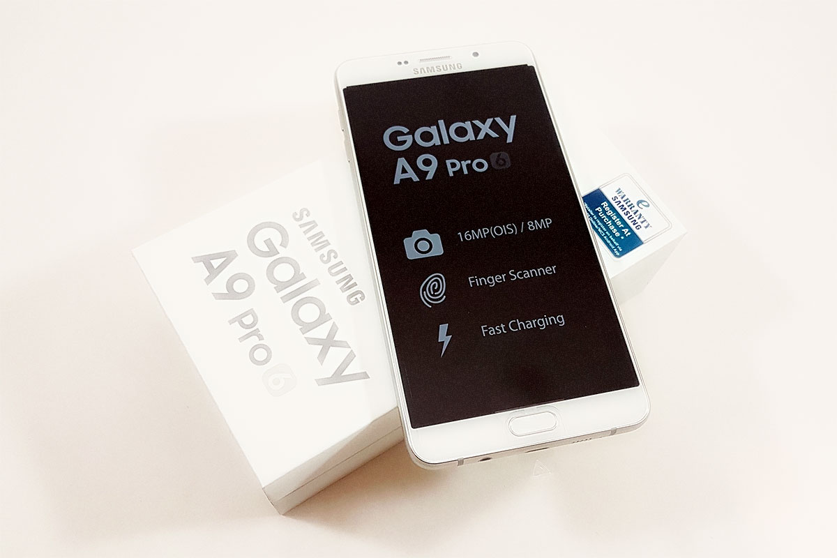 Samsung Galaxy A9 Pro SM A910F Phablet Review