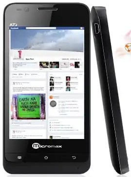 Micromax A73 is a great phone listed among 2012 Dual sim android phones