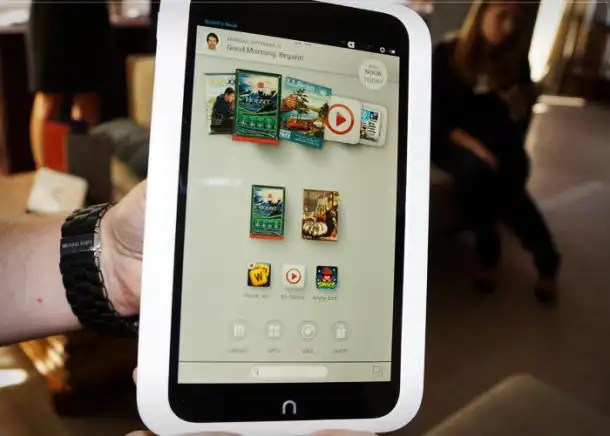 Barnes & Nobles Nook HD +