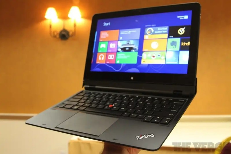 37 inch ThinkPad Helix
