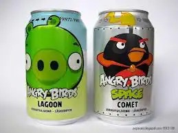 Angry Bird Soda (Lagoon and Comet)