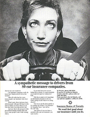 Vintage Ad #1,168: Sympathy from the Car Insur...