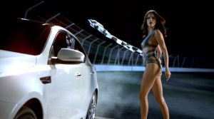 kia adriana lima super bowl 300x167 Adriana Lima, Chuck Liddell, and Motley Crue make Kia's #BigGame Commercial Dream Team