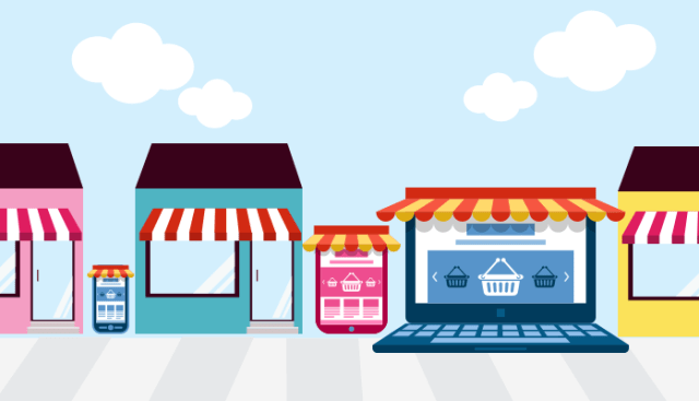 how to get a business adress for online store