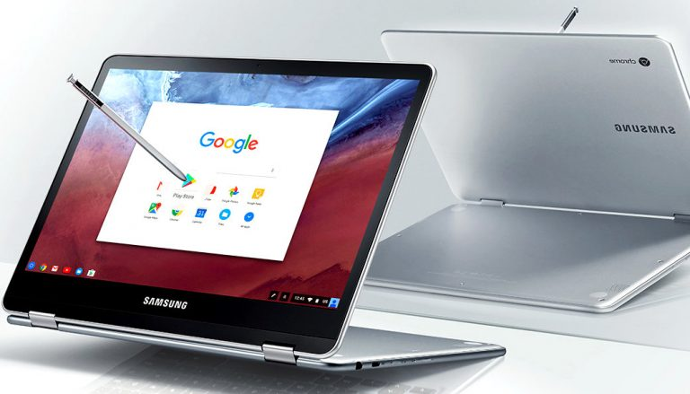 Samsung Chromebook Pro with 12.3-inch display, 4 GB RAM, Chrome OS