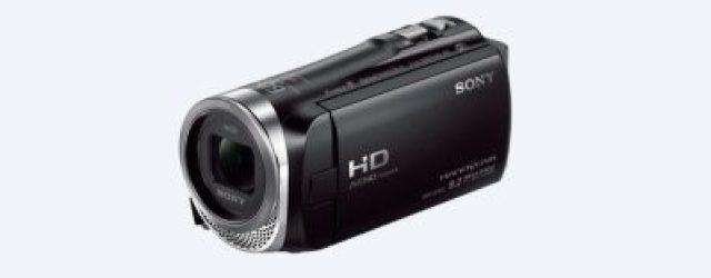 Sony Camcorder CX455 Handycam® with Exmor R™ CMOS sensor