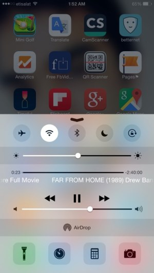 Play YouTube in the background on iOS 8