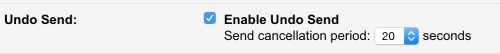 How to Undo your sent email in gmail