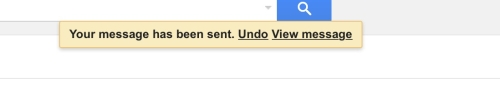 Undo your sent email in gamil