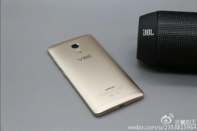 Lenovo Vibe P1 Pro back and jbl speaker