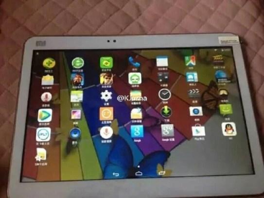 Xiaomi Mi Pad 2 running on Android