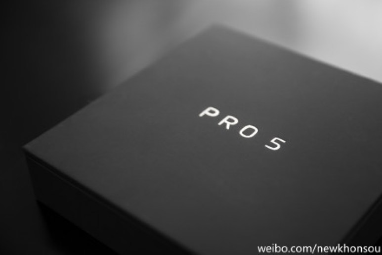 Meizu Pro 5 Black color packaging