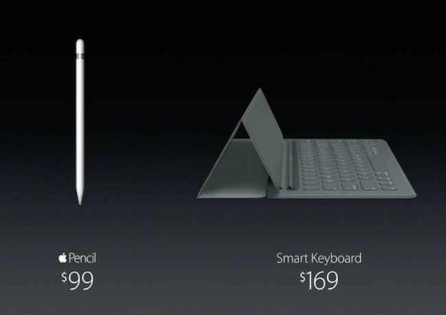 iPad Pro Keyboard and Apple Pen Price