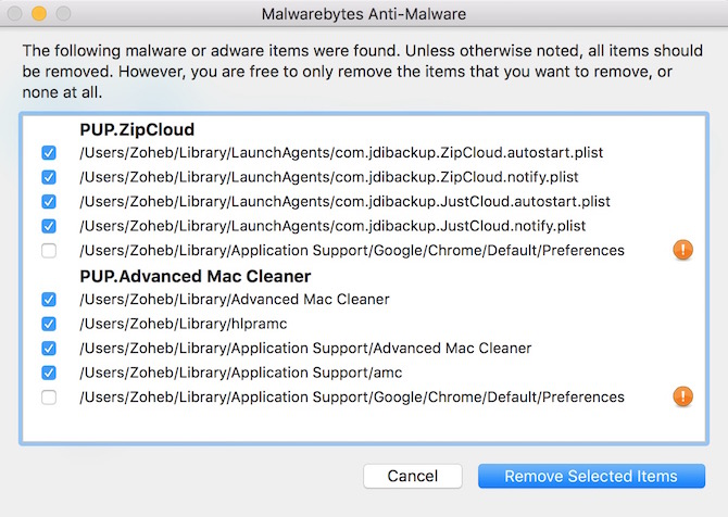 Anti Malware and Adware tool for Mac