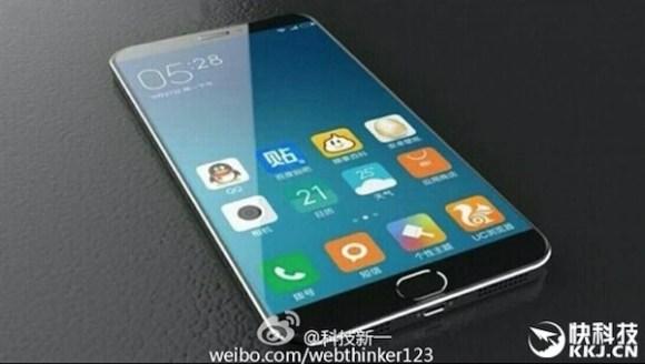 Xiaomi Mi 5 leaked image display size