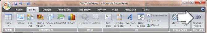 Add YouTube Video in Powerpoint