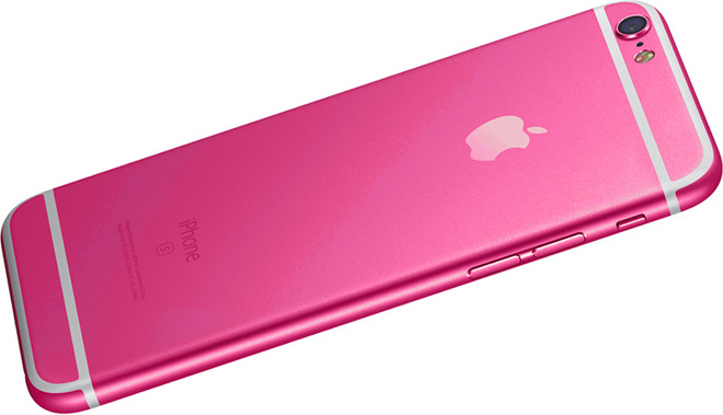 iPhone 5Se Pink Color