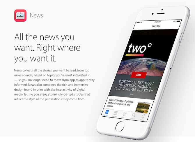 How to enable Apple News anywhere