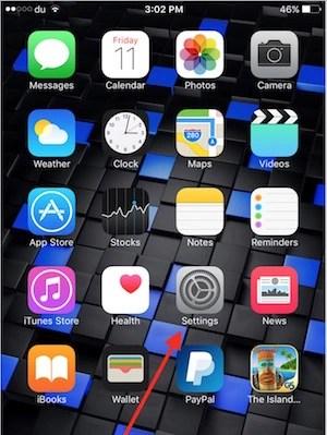 IPhone's Settings