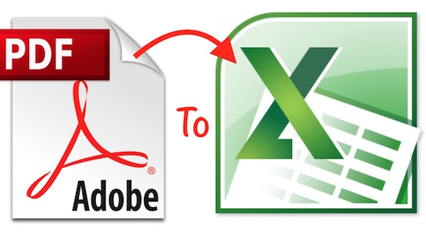 PDF to Excel convert