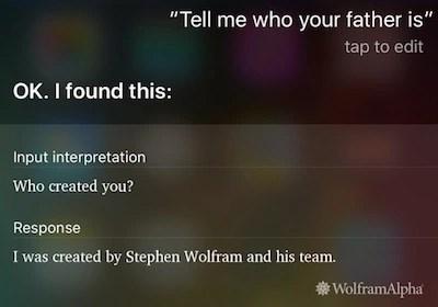 Siri father