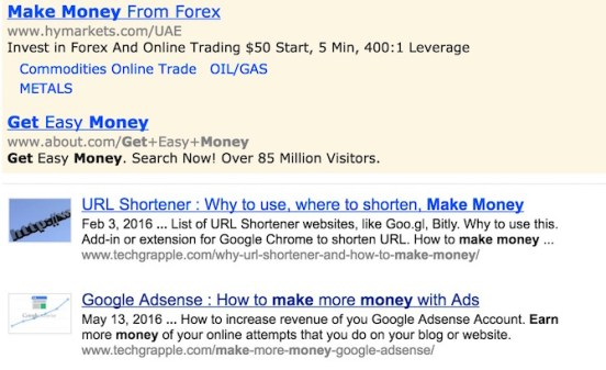Adsense for Search